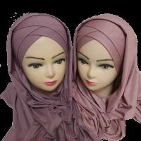 Хиджаб из тонкого трикотажа